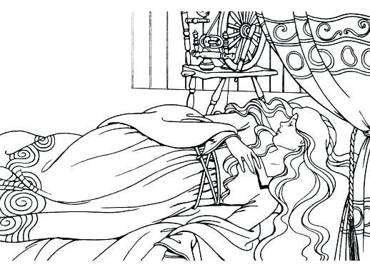 518x381 Sleeping Bear Coloring Page Bed Coloring Pages Sleeping Coloring