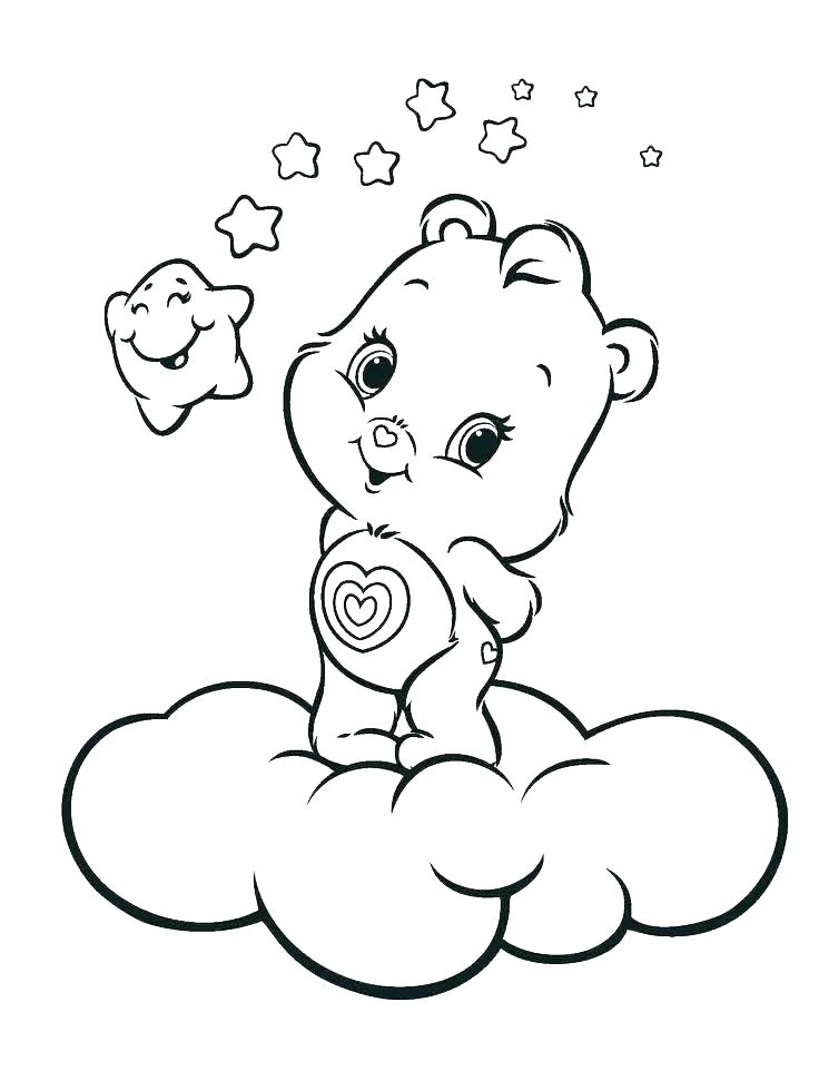 736x971 Sleeping Bear Coloring Page Hibernation Coloring Pages Sleeping