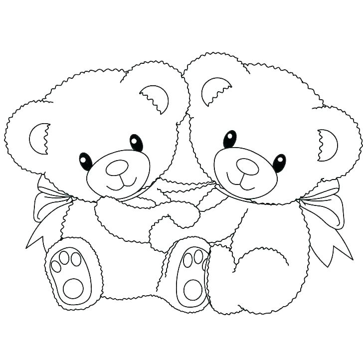 728x728 Sleeping Bear Coloring Page