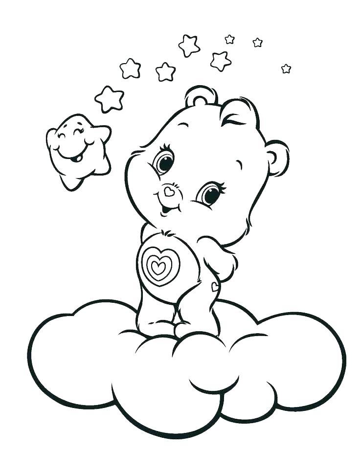 736x971 Sleeping Bear Coloring Page Hibernation Coloring Pages Sleeping