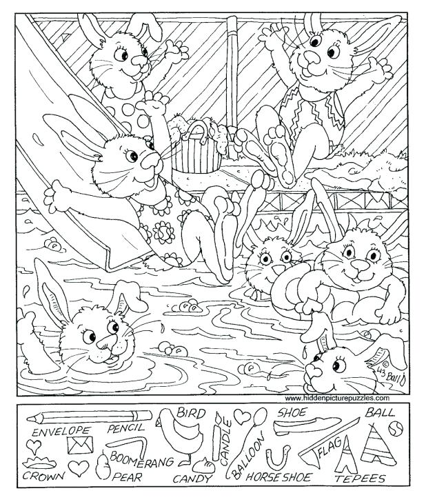 618x728 Hidden Pictures Inspirational Hidden Picture Coloring Pages