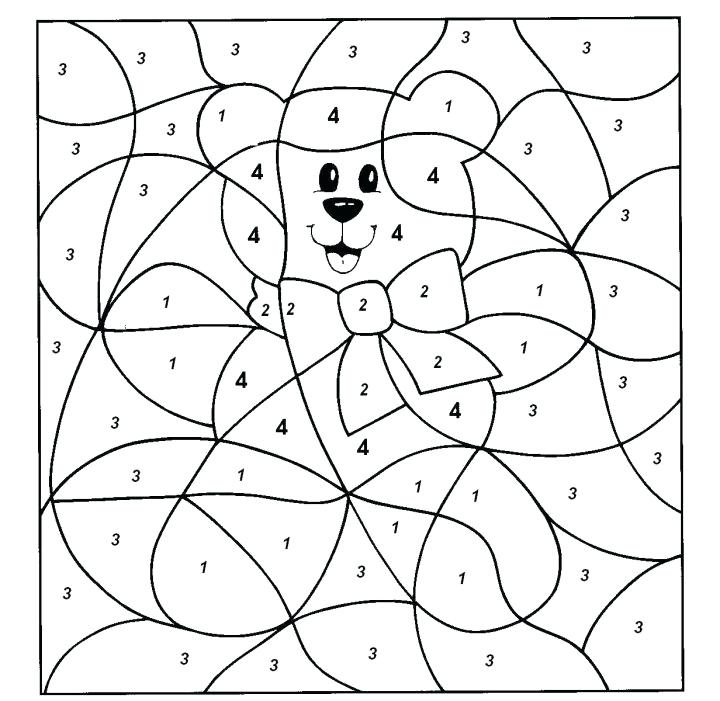 720x701 Winter Hidden Picture Printable Number Coloring Pages Printable