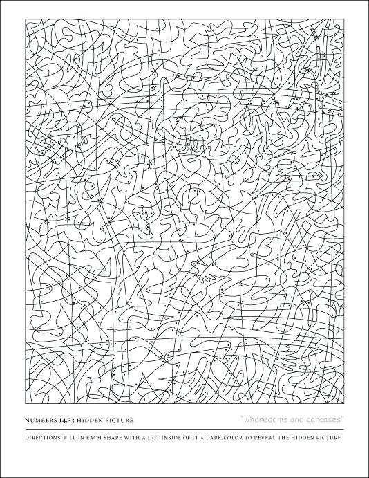 534x691 Hidden Pictures Coloring Pages Great Hidden Picture Coloring Pages