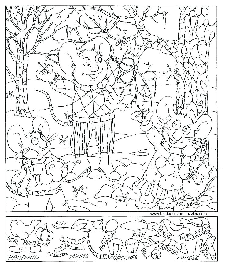 736x875 Hidden Pictures Coloring Pages Hidden Pictures Coloring Pages