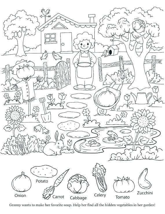 570x737 Hidden Pictures Coloring Pages Hidden Pictures Publishing Hidden