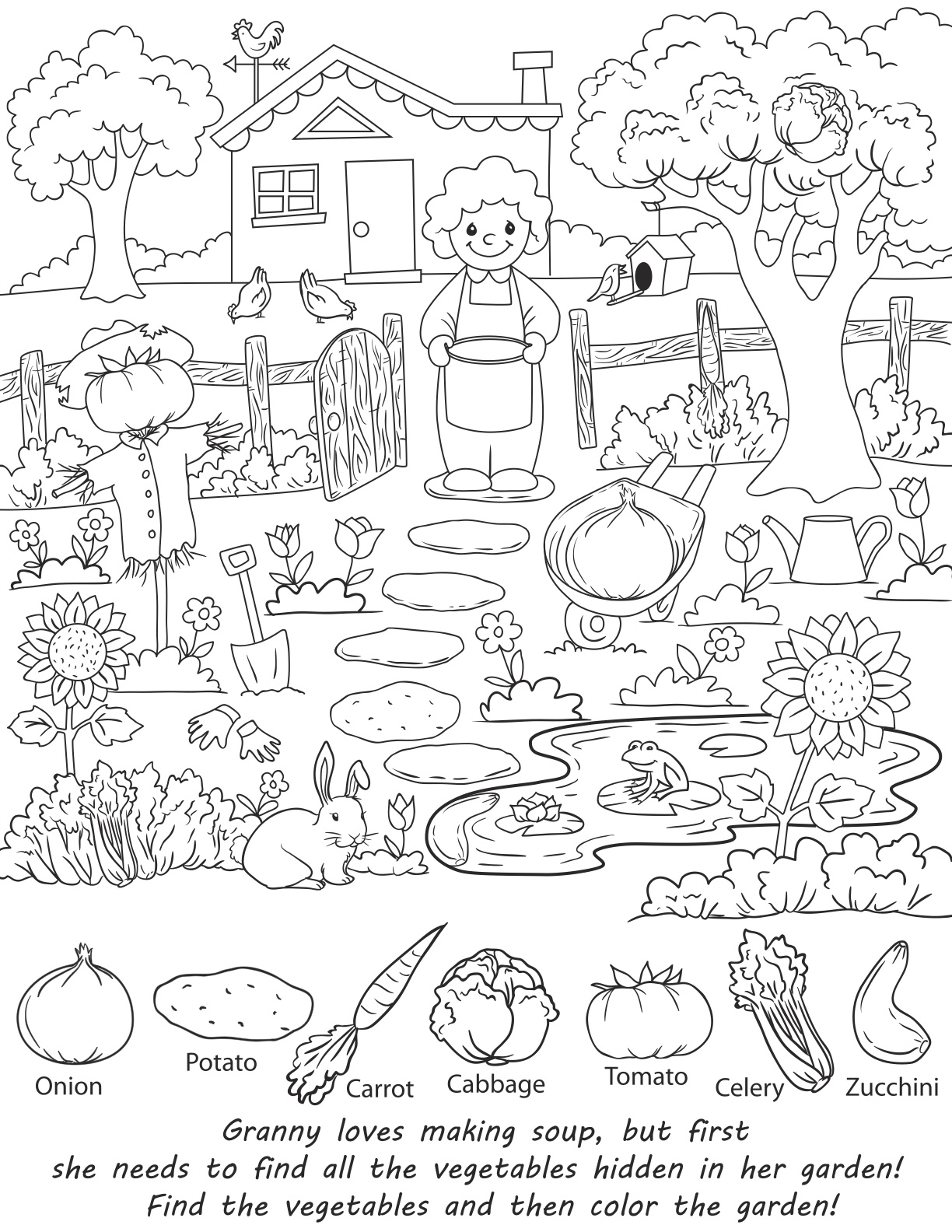 1224x1584 Valuable Coloring Pages For Adults With Hidden Objects Impressive