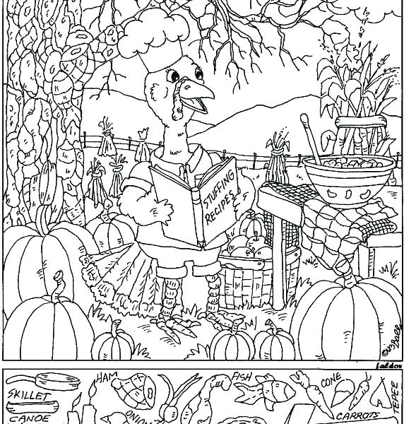 572x600 Coloring Pages Hidden Objects Find The Printable Object Pictures