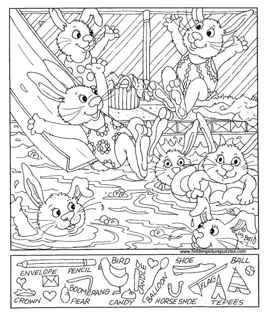 870x1024 Coloring Pages And Coloring Books Hidden Picture Coloring Pages