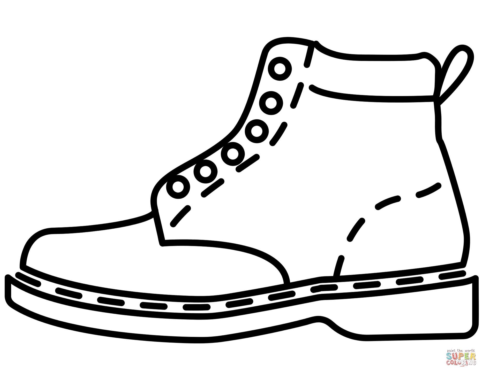 1864x1440 High Heel Shoe Template Printable High Heel Shoe Coloring Page