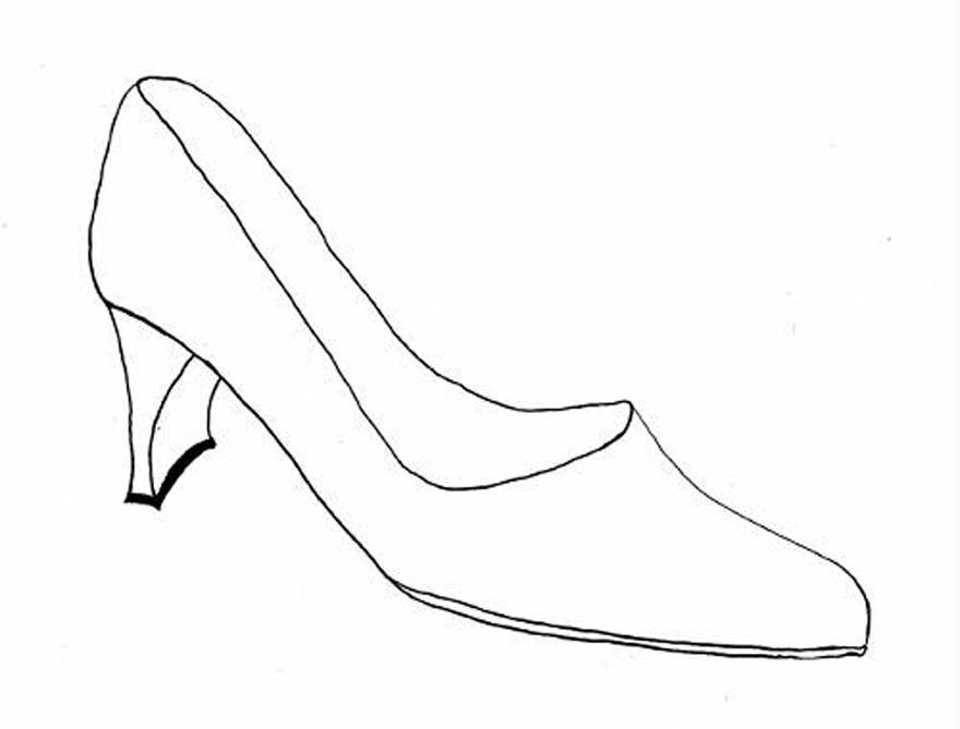 880x669 Shoes Coloring Page, I Love Shoes Coloring Page Twisty Noodle