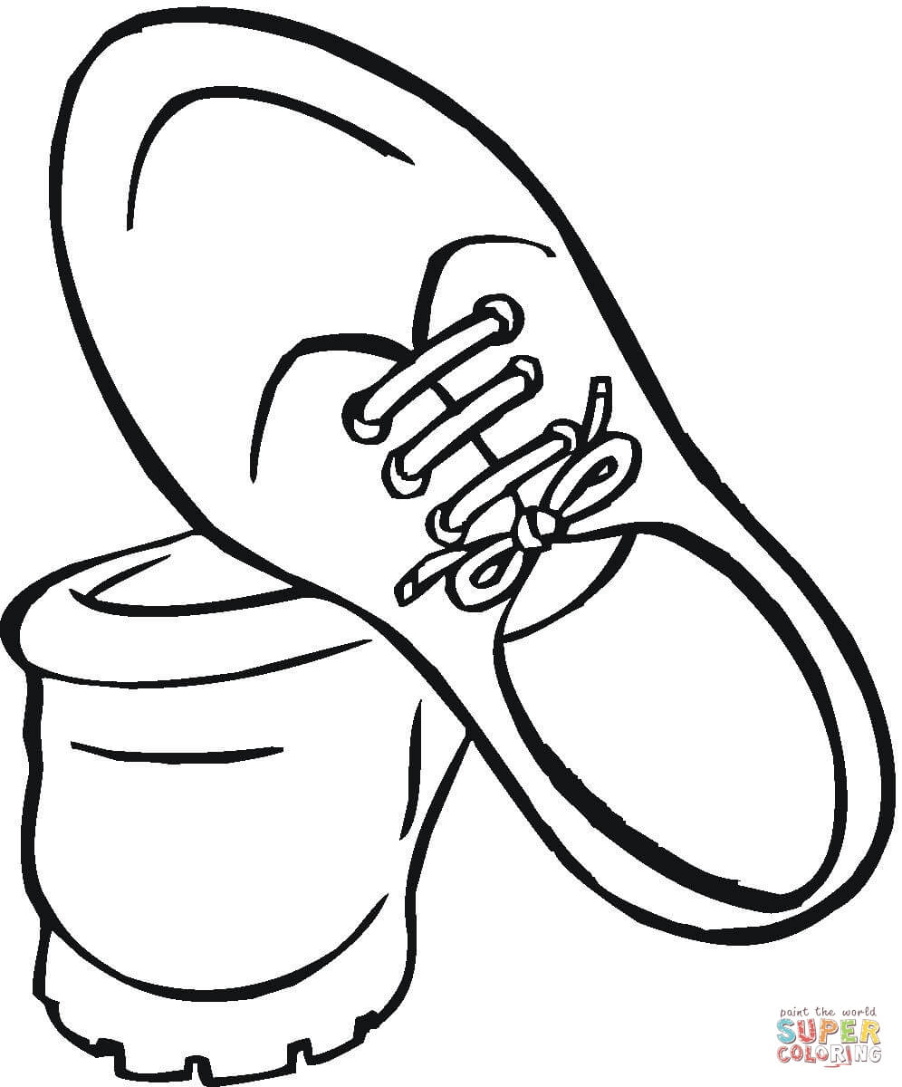 996x1200 Pretty Girls Shoes With Bows Coloring Page Printable Stunning
