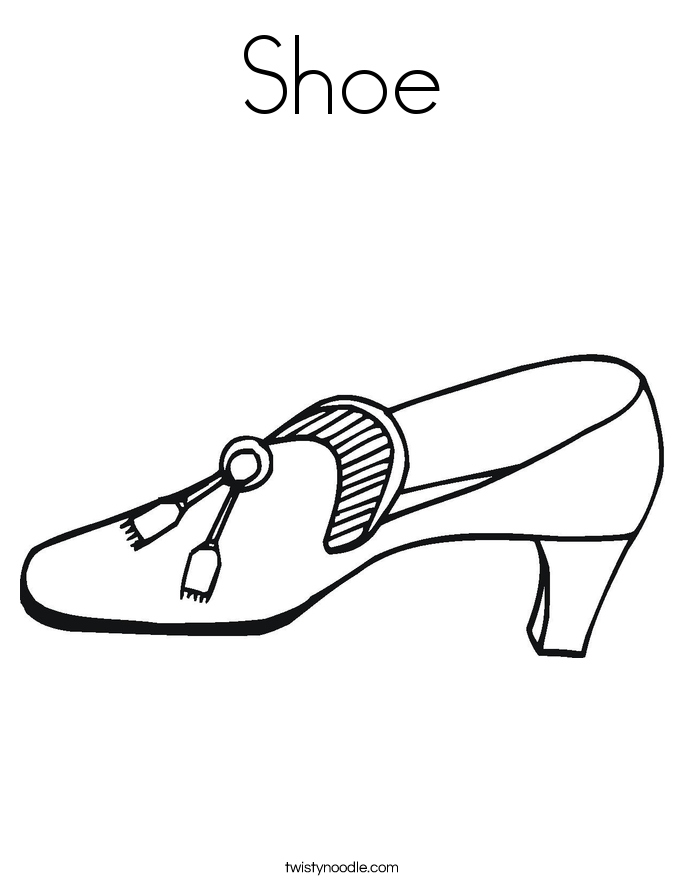 685x886 Shoe Coloring Page Fresh High Heel Shoe Coloring Page Logo