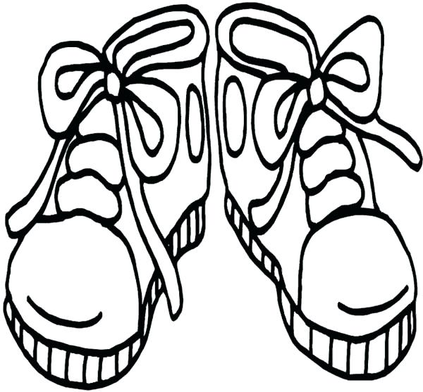 600x557 Shoes Coloring Page Models Of High Heels Shoes Coloring Pages Nike