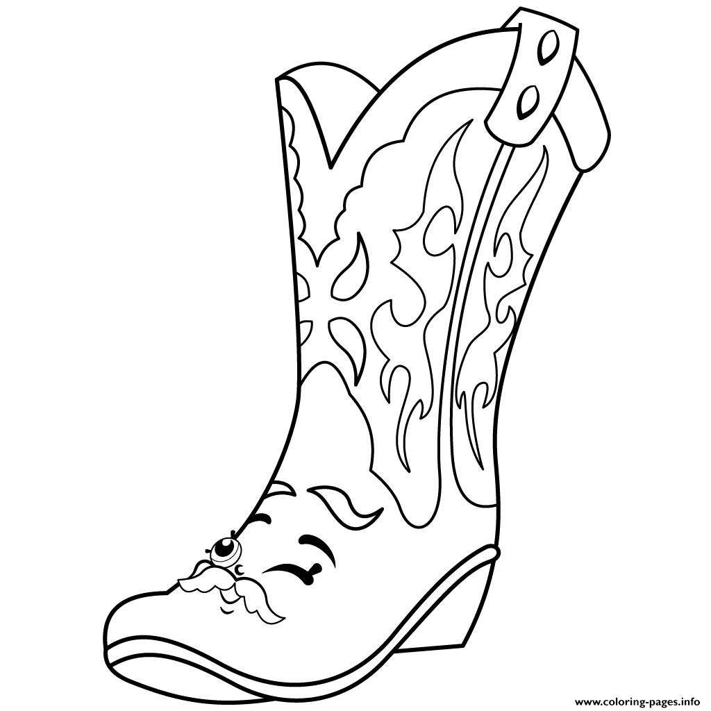 1024x1024 Shopkins Shoe Coloring Page Download
