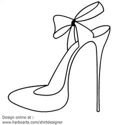 236x250 Womens Shoes Coloring Printable Page Coloring Pages Fun