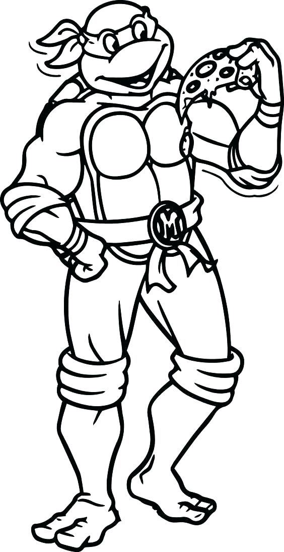 564x1094 Ninja Turtle Coloring Page Coloring Book Ninja Turtles Coloring