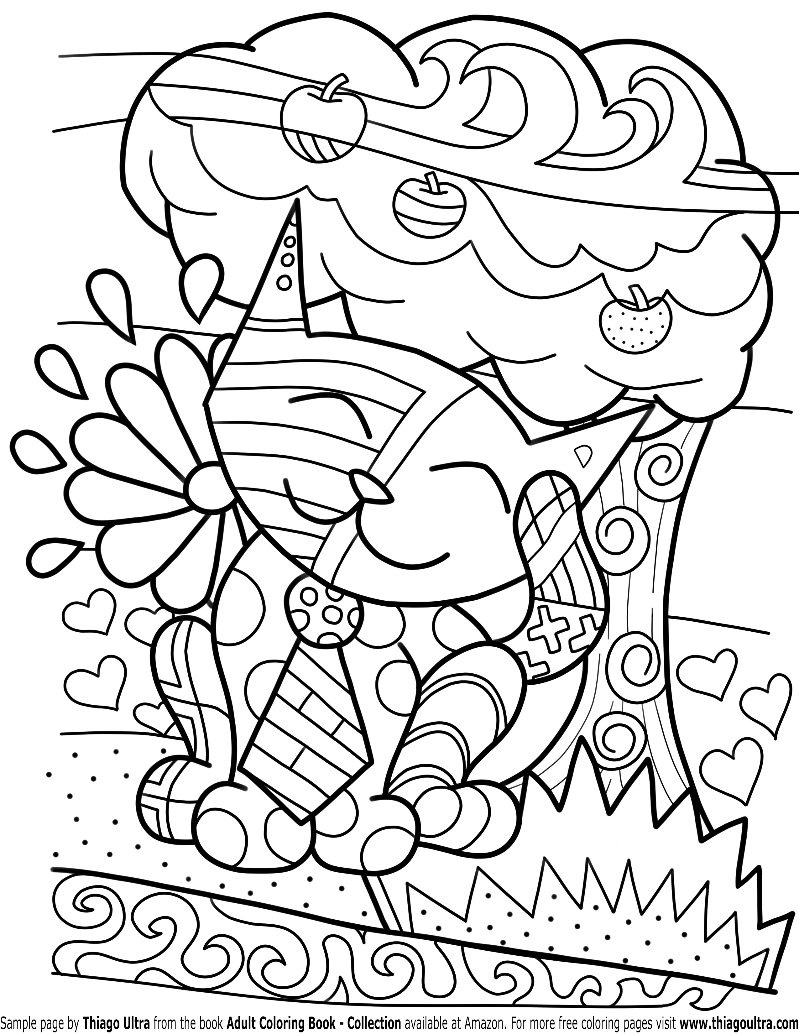 2550x3300 Innovative High Resolution Adult Coloring Page