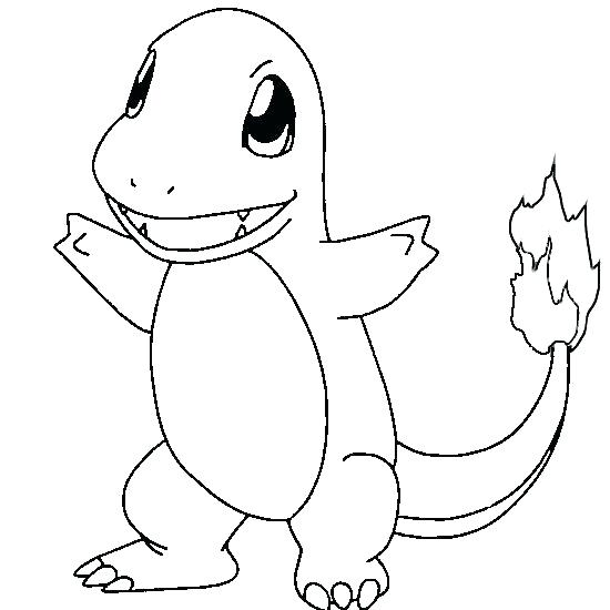 550x550 Pokemon Characters Coloring Pages Free Printable Coloring Pages