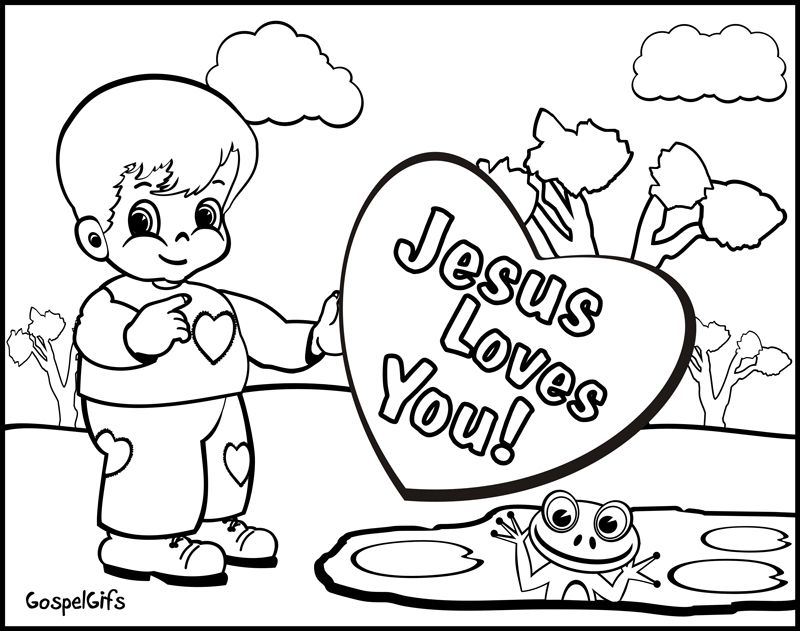 800x631 Printable Christian Valentine Coloring Pages