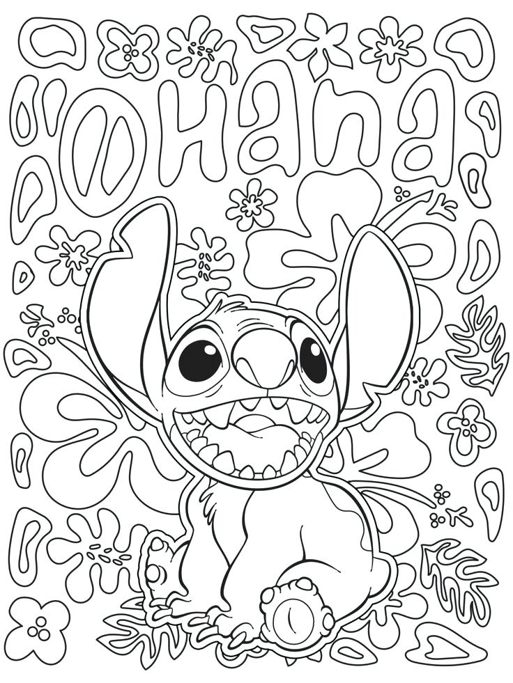 736x981 High Quality Coloring Pages