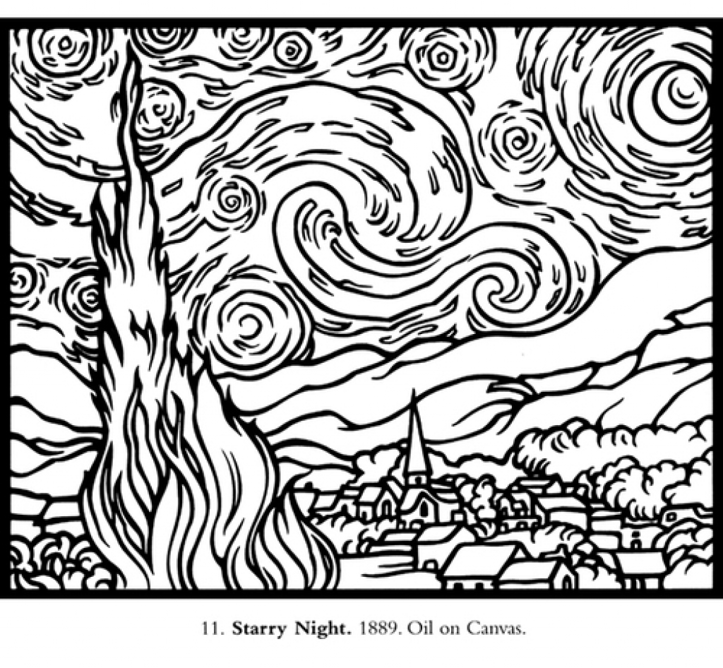 Middle School Coloring Pages