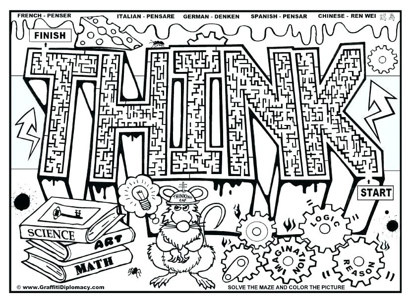 827x609 Coloring Pages Middle School Middle School Coloring Pages Summer