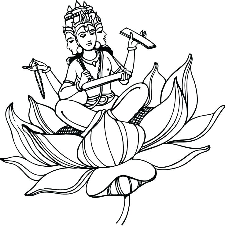 736x739 Cool Hindu Coloring Pages Cool Coloring Pages Coloring Pages