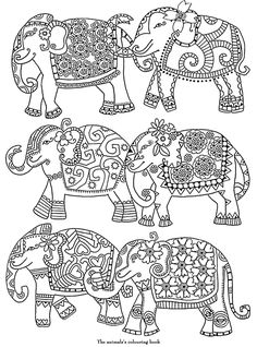 236x318 Free Elephant Coloring Pages For Adults Easy Peasy, Free