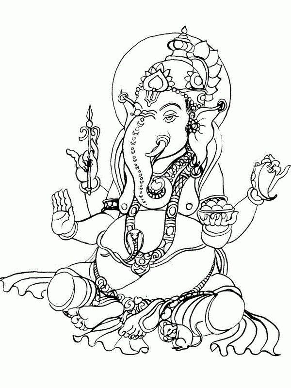600x800 Ganesha, Intended Left Leg Spritual Self Ganesha