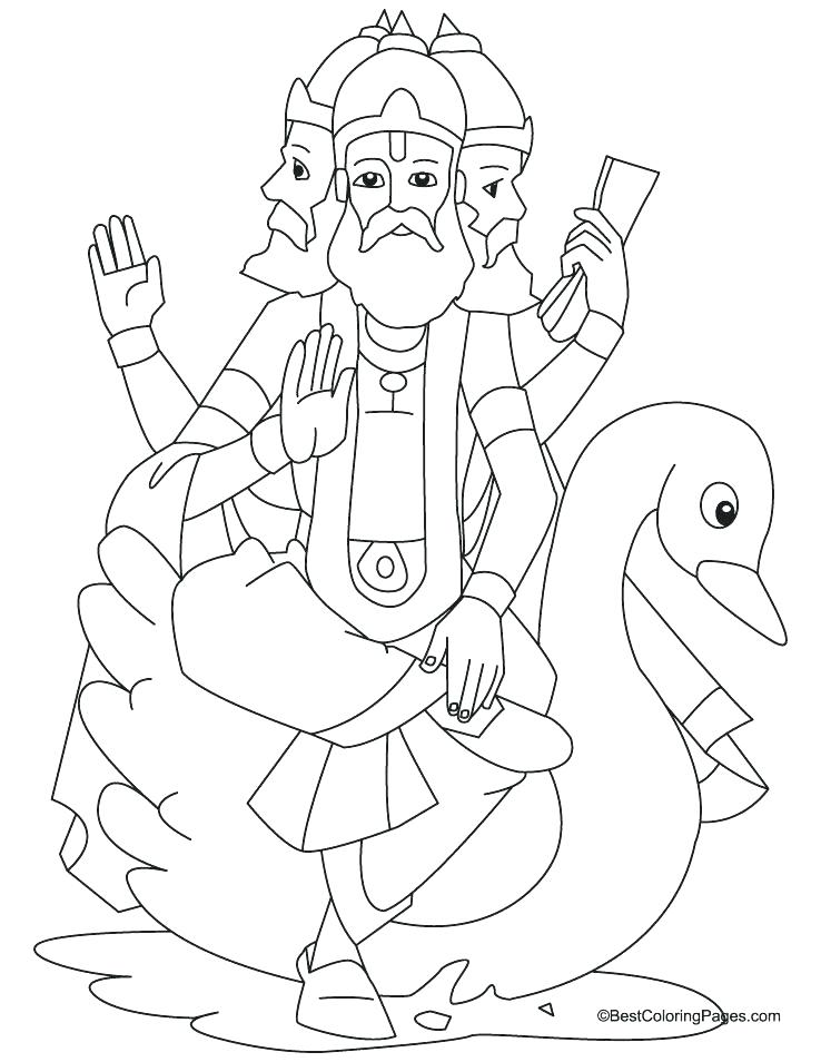 738x954 Hindu Coloring Pages Coloring Coloring Pages Colouring Pages
