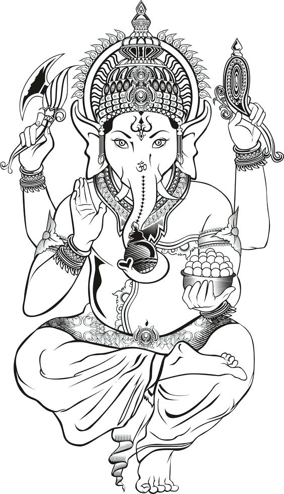 564x980 Hindu Coloring Pages Elephant Coloring Page Google Search Dope
