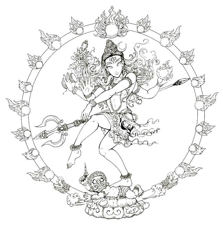 773x787 Hindu Coloring Pages More Coloring Pages Hindu Symbols Coloring