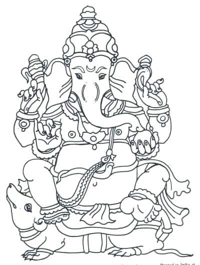 400x529 Hindu Coloring Pages Parent Hindu Elephant Coloring Pages