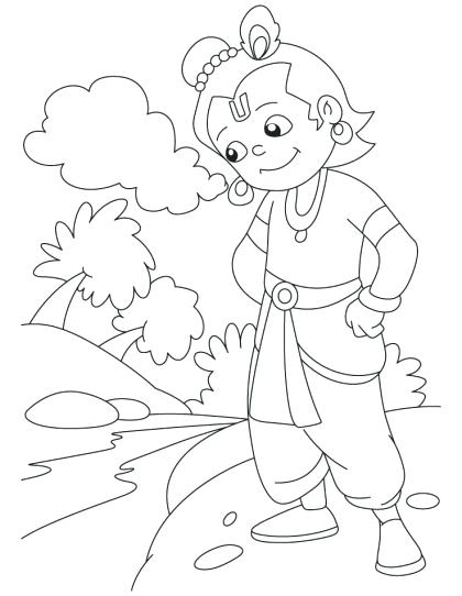 420x542 Hindu God Coloring Pages Coloring Pages Gods Kids Hindu God