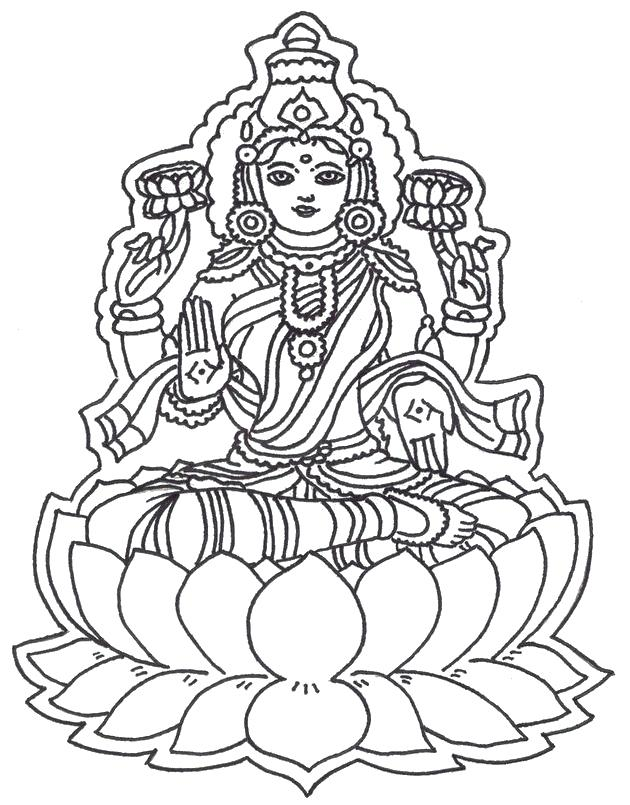 630x805 Adult Coloring Page God G Hindu Elephant Coloring Pages