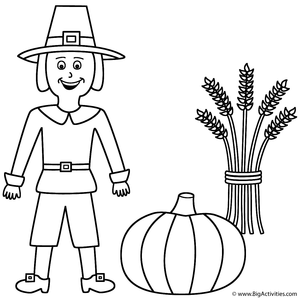 1243x1243 Corn And Pumpkin Coloring Pages Galleryhip The Hip Cool Coloring