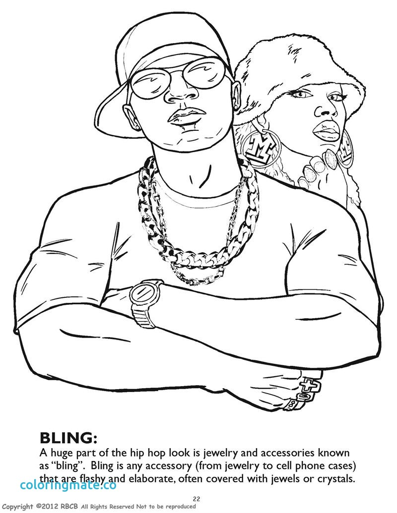 800x1035 Book Coloring Page B Popular Hip Hop Coloring Book