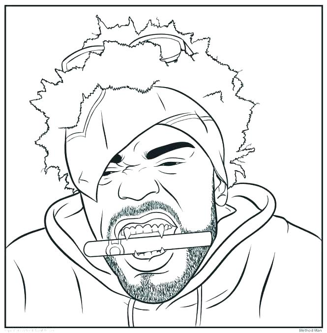 665x677 Hip Hop Coloring Book