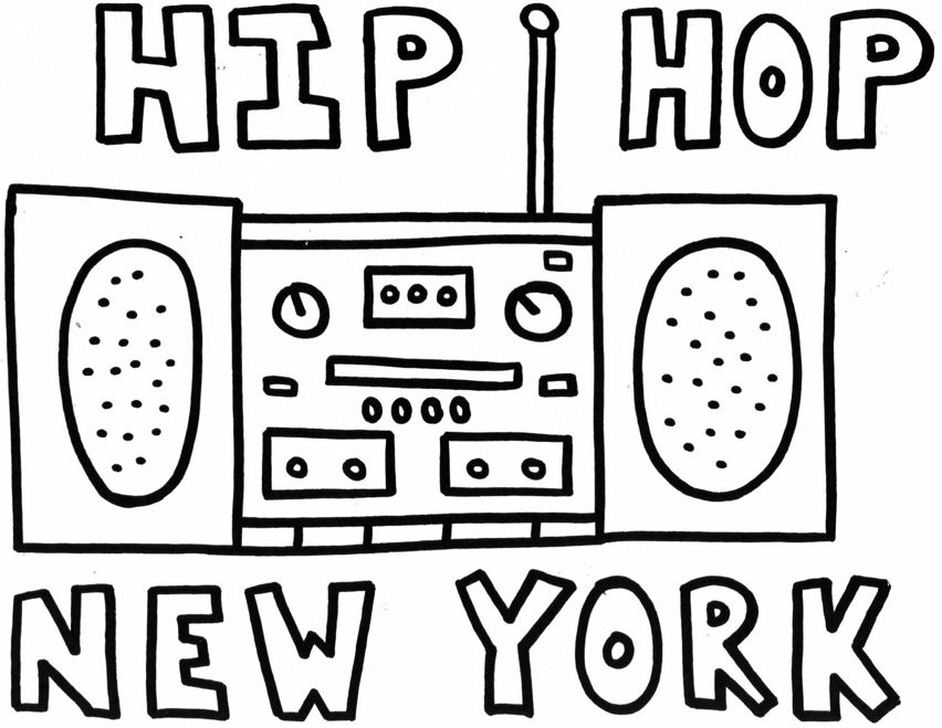 852x659 Hip Hop Coloring Pages Growing, Learning, And Having Fun