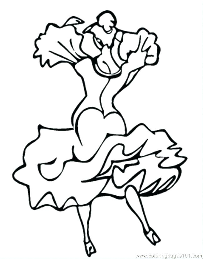 650x827 Dance Coloring Pictures Stage Performer Dance Coloring Page Hip