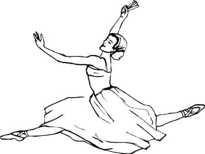 400x300 Free Coloring Pages Ballet
