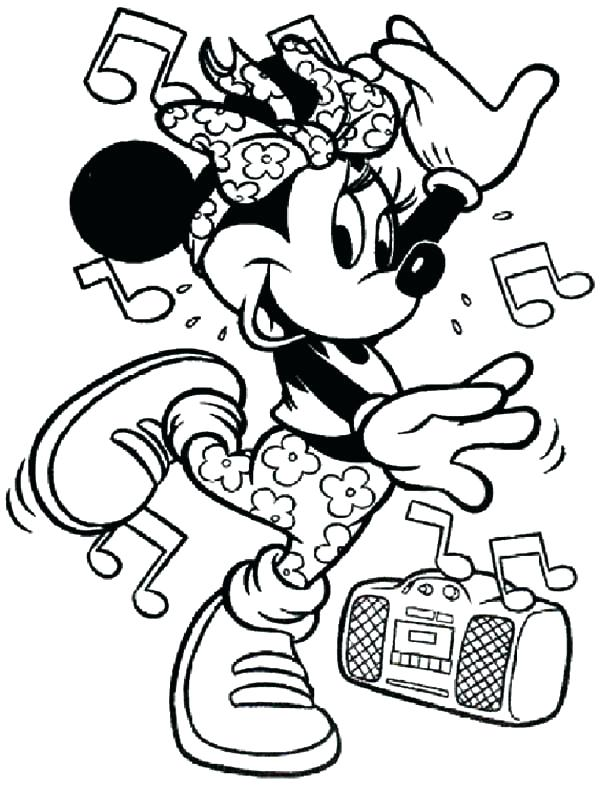 600x788 Dance Coloring Page Dance Color Pages Coloring Pages For Kids Free