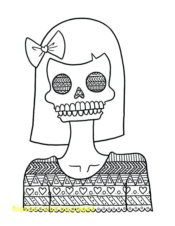 Hipster Coloring Pages At Getdrawings Com Free For