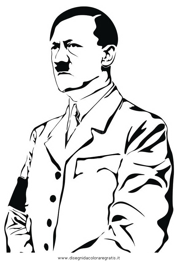 580x860 Line Drawing Of Hitler