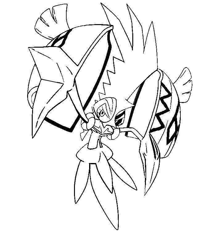 655x750 Tapu Koko Colorier Sur Ordinateur Code Pokemon