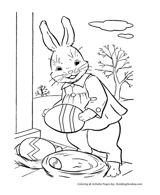 670x820 Bunny And Egg Coloring Pages Unique Best Coloring Easter