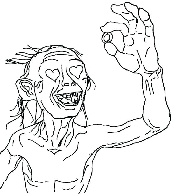 600x663 Lotr Coloring Pages Coloring Pages Hobbit Coloring Page Lord