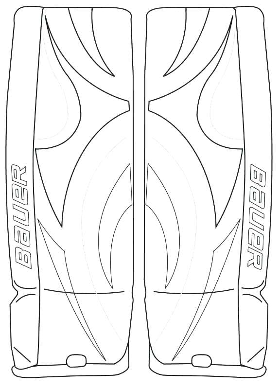 Hockey Goalie Coloring Pages at GetDrawings.com | Free for personal ...
