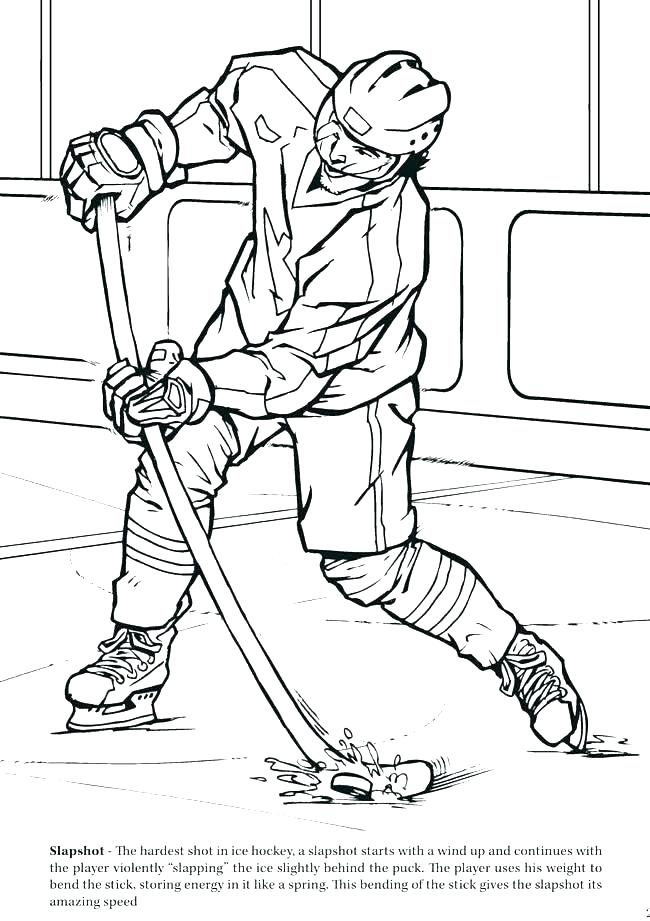 650x921 Hockey Coloring Pages Coloring Pages Hockey Hockey Coloring Book