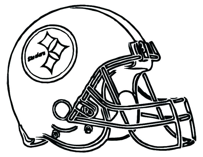 700x541 Football Color Sheet Football Coloring Pages Football Helmet